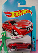 Case G 2014 i Hot Wheels RYURA LX #5~met RED; black j5~HW City~