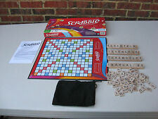 * 2007 Parker Brothers Scrabble Crosswords Game Complete