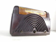 Antique Crosley 9-102 Tube Bakelite Deco Radio