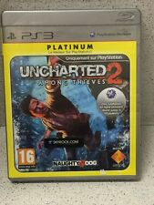 UNCHARTED 2 PLATINUM JEUX PS3 AVEC NOTICE PLAYSTATION