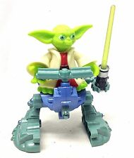 "STAR WARS Playskool YODA JEDI MASTER 6"" chunky kids toy figures & Walker"