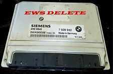 Tuned BMW MS43 DME ECU EWS DELETE IMMO OFF E46 E39 X5 325 330 525 530 No EWS
