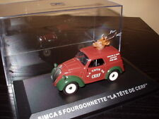 voiture 1/43 IXO Altaya Camionettes Publicitaire simca 5 fourgonette Cerf