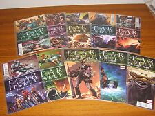 FEAR ITSELF #1 - 7 SET + 7.1 + 7.2 & 7.3 (MARVEL) 10 ISSUES (2011)