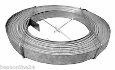 Galvanised Steel Metal Strapping / Bracing Strip Tape 30mm x 0.8mm x 30 metres