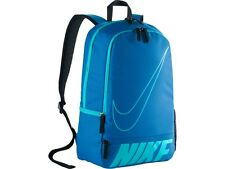 TNIK368: brand new official Nike backpack - blue school bag - 45 x 30 x 15 cm
