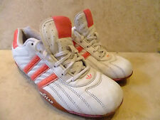 Adidas Originals Goodyear White Leather Trainers Casual shoes Size UK 4 EUR 36.5