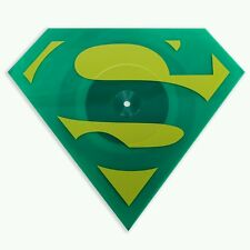 Superman The Animated Series Mondo Die-Cut Kryptonite Green Vinyl