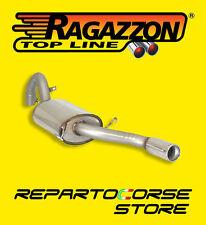 RAGAZZON TERMINALE SCARICO TONDO 80mm ALFA 75 1.8 TURBO AMERICA 87 93 58.0547.04
