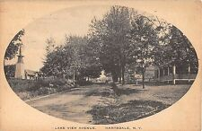 1912 Homes Lake View Ave. Hartsdale NY post card Westchester County