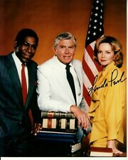 LINDA PURL signed MATLOCK 8x10 w/ coa ANDY GRIFFITH FIRST SEASON CAST PORTRAIT