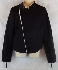 American Eagle Sherpa Lining Winter Jacket - Front Zipper and Cuff Zipper- S/P