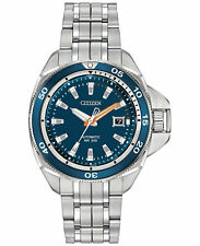 BRAND NEW CITIZEN SIGNATURE COLLECTION GRAND TOURING SPORT BLUE DIAL NB1031-53L