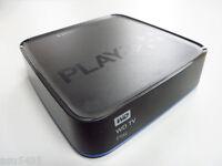 Western Digital WD TV Play media player Netflix Hulu Wi-Fi MKV H.264 MKV 1080p
