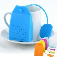 Hand Bag Style Silicone Tea Strainer Herbal Spice Infuser Filter Diffuser Filter