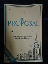 THE PROPOSAL by TASMINA PERRY - HEADLINE REVIEW 2013-UK POST £3.25 - P/B *PROOF*
