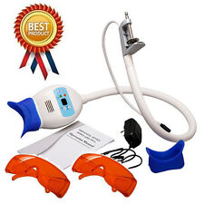 Coiled pipe style dental teeth whitening lamp Bleaching Accelerator &Goggle RED!
