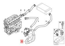 Genuine BMW E46 Hose Water Valve And Electric Flow Heater OEM 64216905316
