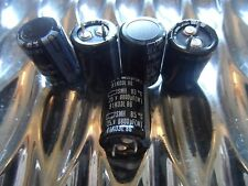 Capacitor   6800uF 25V Electrolytic Series SMH  Capacitor Snap Mount 5Pack