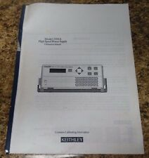 Keithley 2304A Calibration Manual