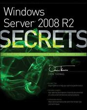 Windows Server 2008 R2 Secrets Orin Thomas