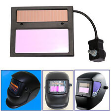 1X NEW Solar Auto Darkening Welding Helmet Lens Mask Goggles Automation Filter