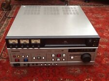 Panasonic ag-6500 VHS editing video registratore a cassette + manuali e cavi.