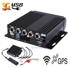SW-0001A SD Remote HD 4CH DVR Realtime Video Recorder 12V for Car Bus RV Mobile