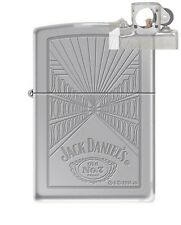 Zippo 5413 Jack Daniels Old #7 Lighter with PIPE INSERT PL