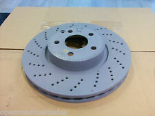 OEM GENUINE MERCEDES BENZ NEW FRONT BRAKE ROTORS X2 FOR E350 4MATIC W/ 950/951