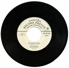 "STEVE GIBSON & The ORIGINAL RED CAPS  ""BIG GAME HUNTER""  STORMING R&B    LISTEN!"