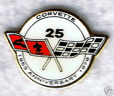 Automotive collectibles Chevrolet Corvette Logo (1978 style 25th) tac-style pin