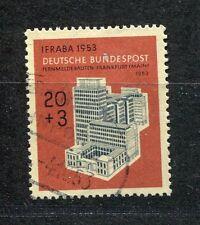 """BUND Mi 172 """"IFRABA 1953"""" gestempelt"""