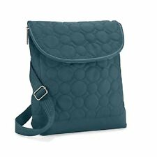 Thirty One Vary You Backpack Purse Jade Green Quilted Dots