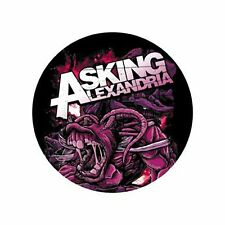 Parche imprimido, Iron on patch, Textil sticker, Pegatina - Asking Alexandria,C