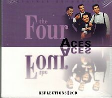 THE FOUR ACES - REFLECTIONS - 50 SONGS -  - NEW SEALED IMPORT 2 CD SET
