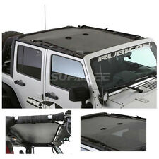 Cloak Extended Mesh Top Sunroof Hardtop For 07-16 Jeep Wrangler JKU 4 Door