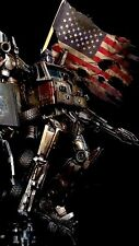 Transformers Custom Age Of Extinction Optimus Prime Leader Class (Painted U.S.A)