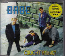 Caught In The Act-Babe cd maxi single (Bastiaan Ragas)