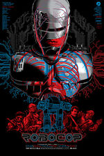 Robocop Movie Art Print Poster by Anthony Petrie