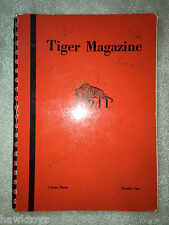 1941 Tiger Magazine Yearbook La Junta High School Colorado Annual Genealogy WWII