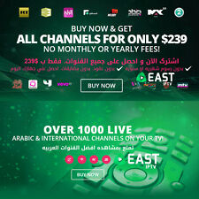 New Arabic Premium TV HD Receiver HDMI WiFi TV Box All 2017 Channels Arab IPTV