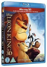 The Lion King 3D [BR3D + Blu-ray, Disney, Simba, Region Free, 2-Disc] NEW