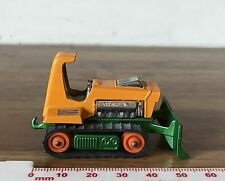 VGC Vintage 1975 Matchbox Lesney Big Bull Tractor #12 Dicast Toy Bulldozer Car