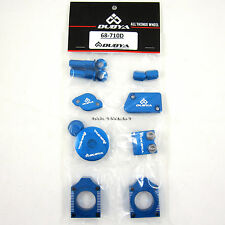 Dubya 7-Piece Bling Kit Yamaha Blue YZF250 YZF 250 YZ250F 14 15 2014 2015 NEW