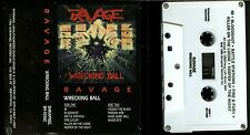 Ravage Wrecking Ball USA Cassette Tape