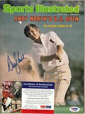 ANDY NORTH SPORTS ILLUSTRATED AUTOGRAPH AUTO PSA DNA CERTIFIED AUTHENTIC