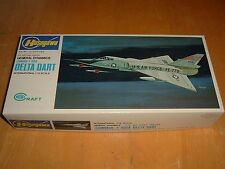 Old HASEGAWA Model  GENERAL DYNAMICS (CONVAIR) F-106A DELTA DART Kit #JS-054:180