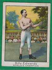 1910 MECCA BOXING BILLY EDWARDS FAIR