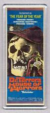 DR. TERROR'S HOUSE OF HORRORS - WIDE FRIDGE MAGNET  -  Amicus Classic!